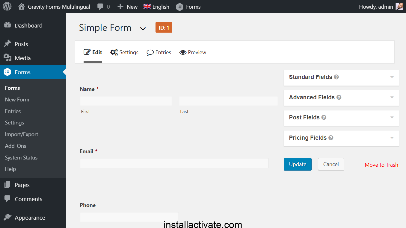Gravity Forms Pro Nulled